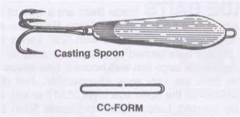 CASTING SPOON LURE